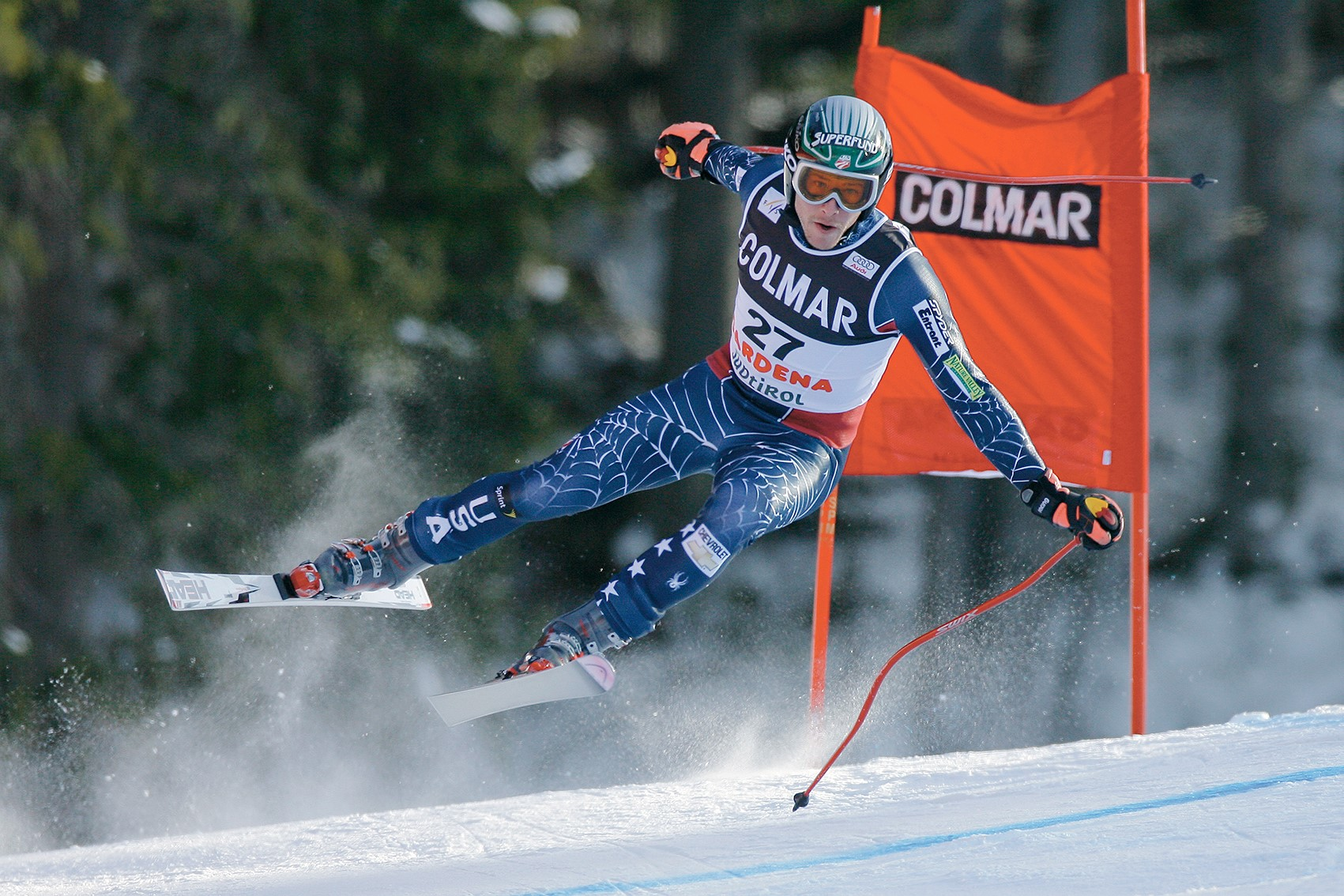 Bode Miller flying