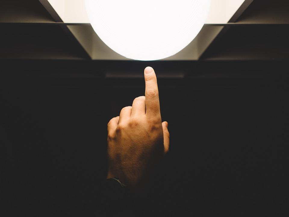 finger judgement to curiosity
