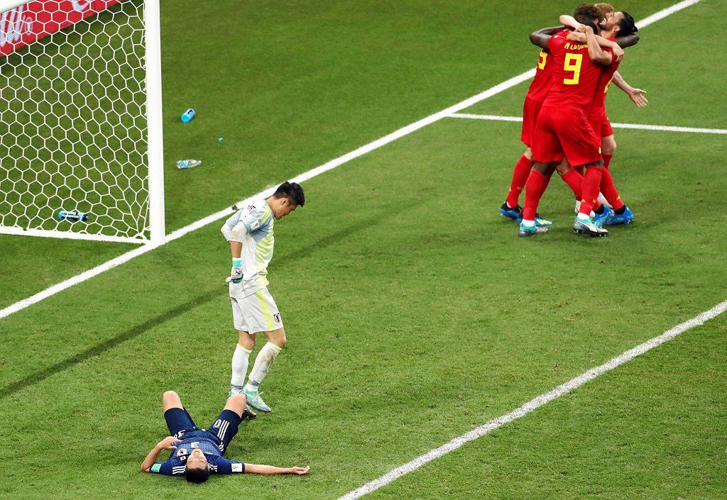 Japan loses to Belgium