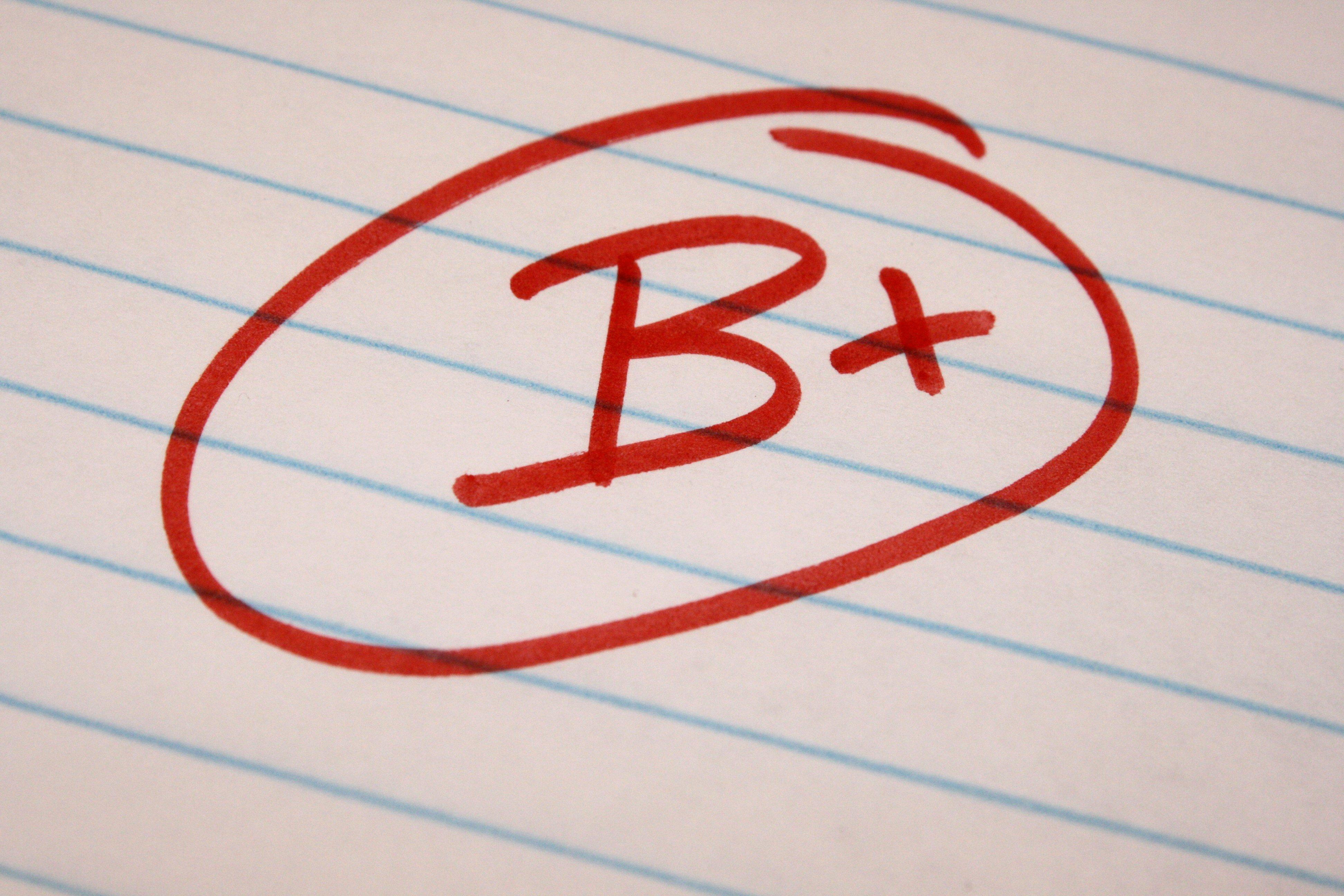 b-plus-letter-grade
