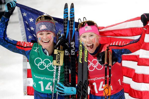 jessie diggins gold medal